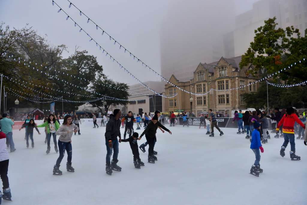 300 Reasons to Love San Antonio: #49 – Rotary Ice Rink